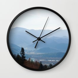 View from Teton Pass Wall Clock