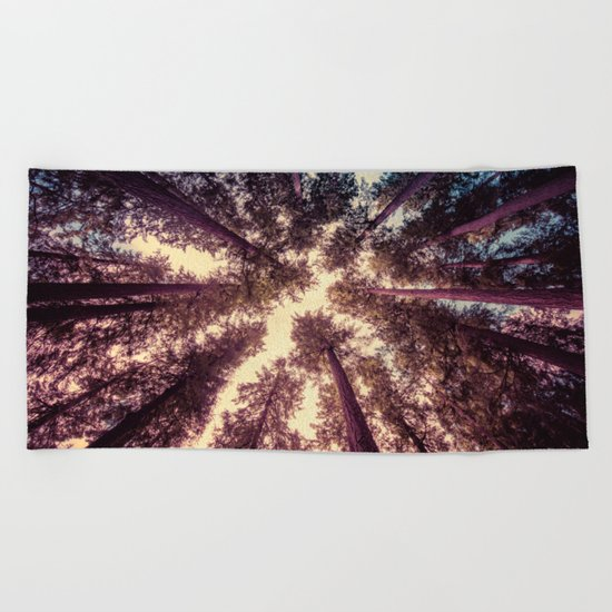 Reaching the Sky Beach Towel