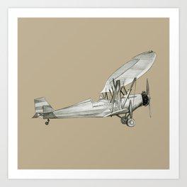 plane2 Art Print