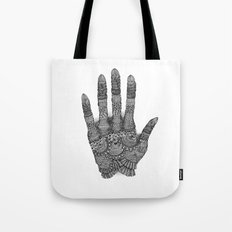 the Creating Hand Tote Bag