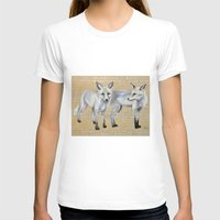 foxes T-shirts featuring foxes by Ashley White Jacobsen