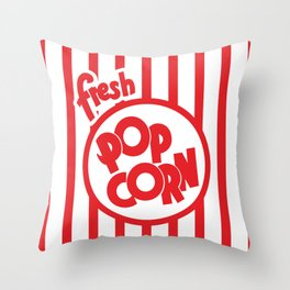 Fresh Popcorn Throw Pillow