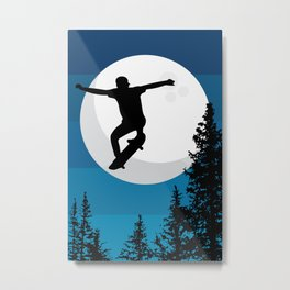 The perfect ollie trick Metal Print