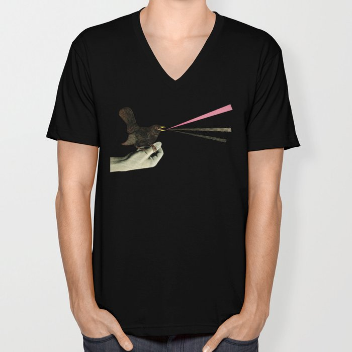 Bird in the Hand Unisex V-Neck