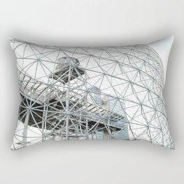 the bucky ball Rectangular Pillow