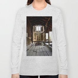 Exploring the Longfellow Mine of the Gold Rush - A Series, No. 4 of 9 Long Sleeve T-shirt