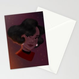 Queen of Space Stationery Cards
