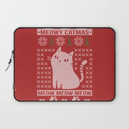 MEOWY CATMAS Laptop Sleeve