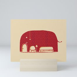 Elephanticus Roomious Mini Art Print