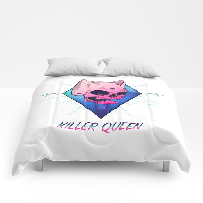 Killer Queen Comforters
