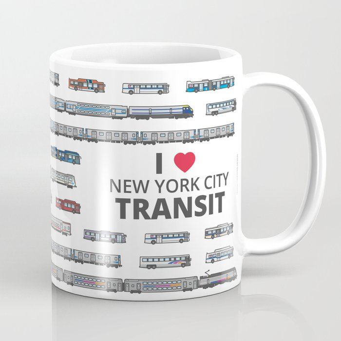 The Transit of Greater New York City Coffee Mug