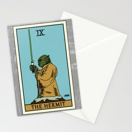 The Hermit - Tarot Card Stationery Cards