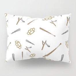Weapons Pattern Pillow Sham