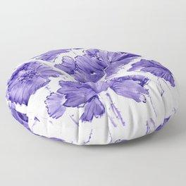 Violet Twilight Floor Pillow