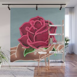 Neon Dream Wall Mural