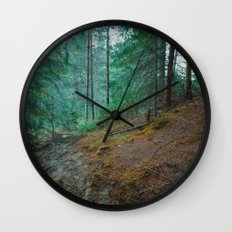 into the woods 04 Wall Clock