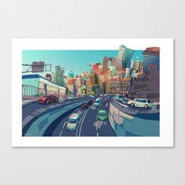 Beiramar Canvas Print