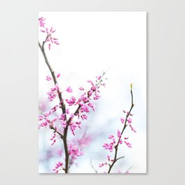 Lavender Twist Canvas Print