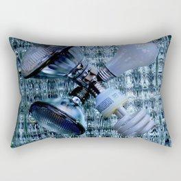 Burn-out Rectangular Pillow