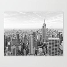 Cityscape of Manhattan Canvas Print