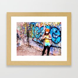 Hazy memories Framed Art Print