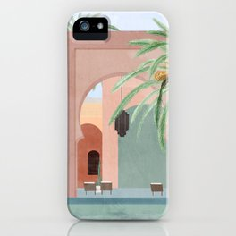 Moroccan Pool iPhone Case