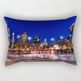 Centennial Skyline Rectangular Pillow