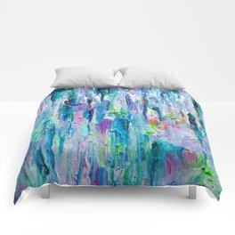 Silver Rain Comforters