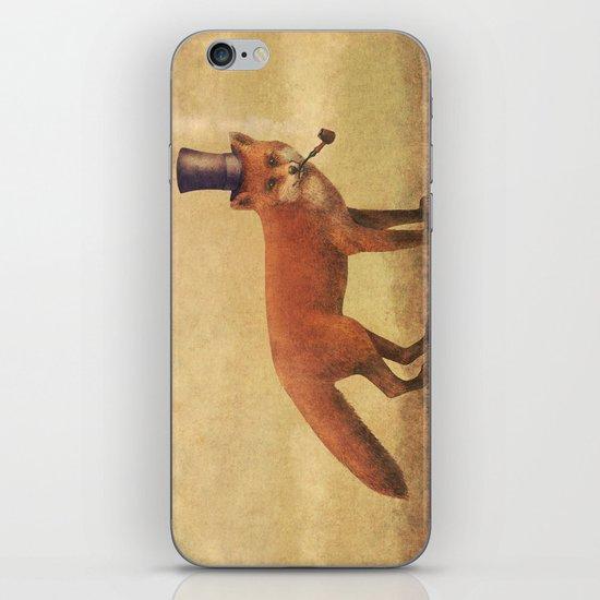 Crazy Like a Fox  iPhone Skin