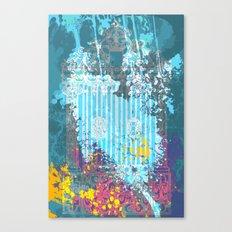 floral 007. Canvas Print