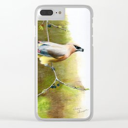 A Quick Bite by Teresa Thompson Clear iPhone Case