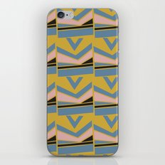 African Textile Shapes Motifs iPhone Skin