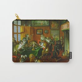 Tabakskollegium by Abraham Teniers (mid-17th century) Carry-All Pouch