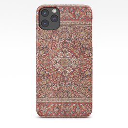 Kashan  Antique Persian Rug iPhone Case