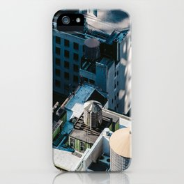 New York sky view iPhone Case