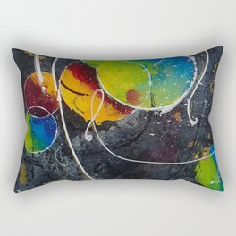Fire against ice Rectangular Pillow