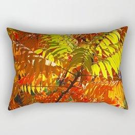 Japanese Rowan in Autumn Colours Rectangular Pillow