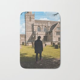 Cemetery walk Bath Mat