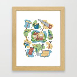 Home Improvement Framed Art Print