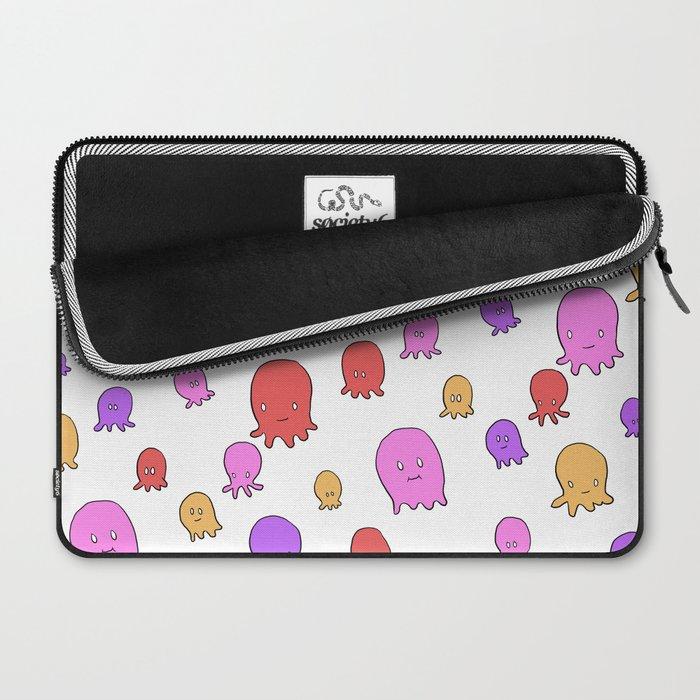 Friendly Octopi Laptop Sleeve