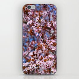 """Pink spring"". Flowers. iPhone Skin"