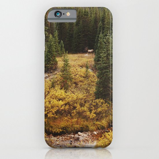 Rocky Mountain Creek Elk iPhone & iPod Case
