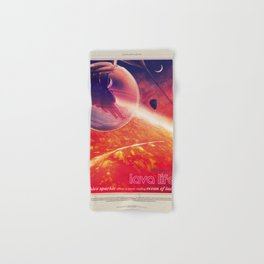 NASA Visions of the Future - Lava Life at 55 Cancri e Hand & Bath Towel