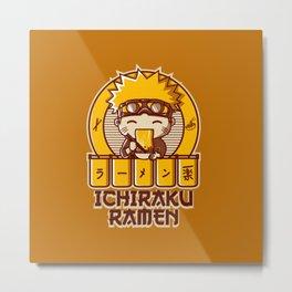 Ichiraku Ramen Naruto Metal Print