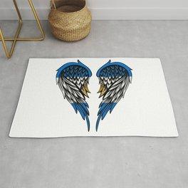 Argentina wings art Rug