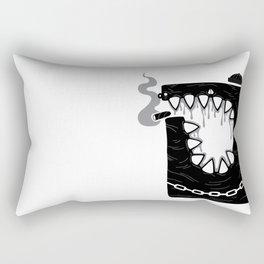 Zombie Hoodlum Rectangular Pillow