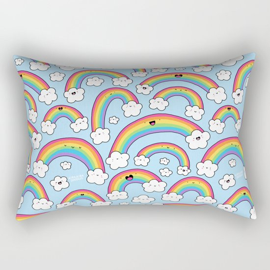 Rainbows Everywhere! Rectangular Pillow