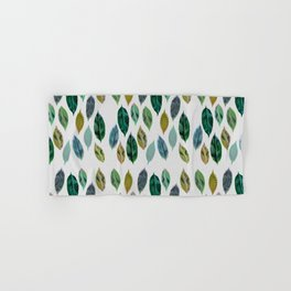 Green Leaves 2 Hand & Bath Towel