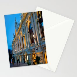 Romantic Evening Stoll in Monte-Carlo Monaco Stationery Cards