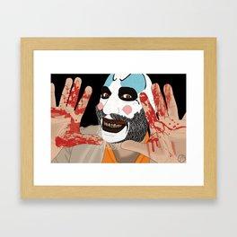 Capitain Spaulding Framed Art Print